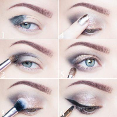 como maquillar ojos chiquitos hundidos