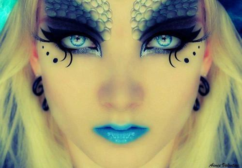 maquillaje de ojos fantasia carnaval