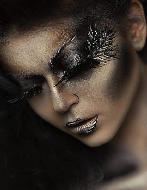maquillaje de ojos fantasia profesional