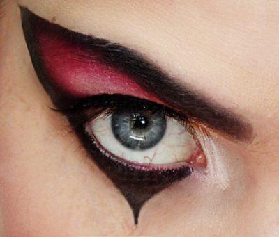 maquillaje de ojos fantasia sencillo