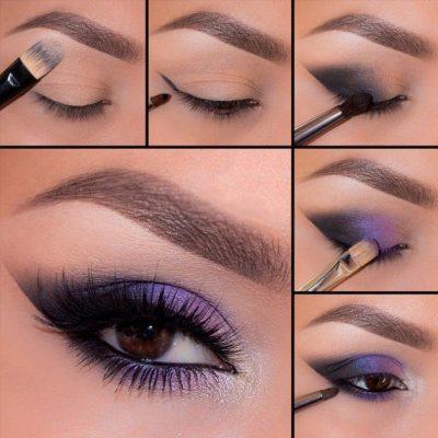 maquillaje de ojos noche ahumados