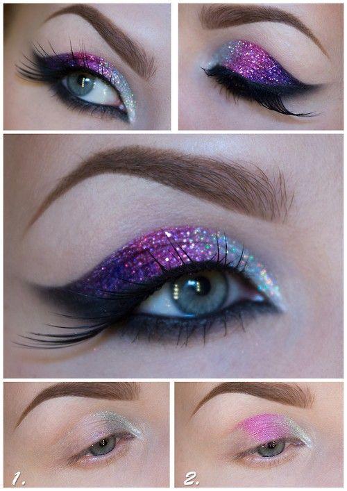 Maquillaje de ojos noche paso a paso para principiantes - Ojos ahumados para principiantes ...