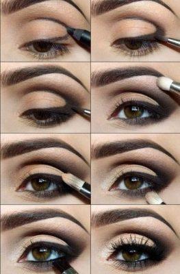 tips para maquillar ojos cafes