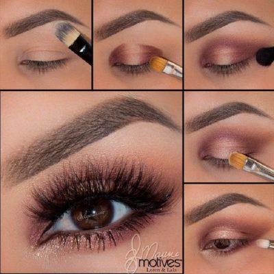 tips para maquillar ojos caidos