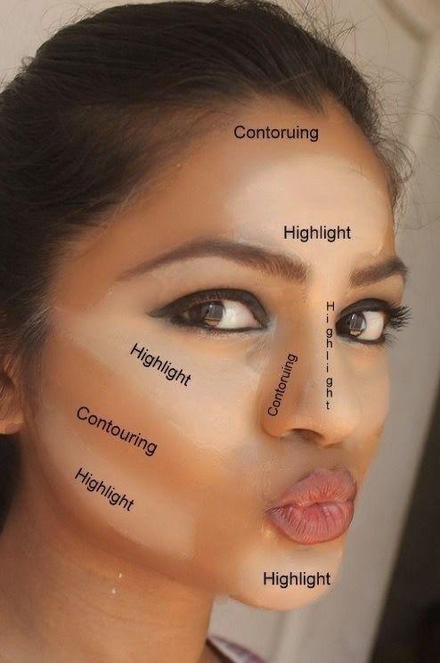 516b7d019 3 fáciles trucos para maquillar una cara redonda | Imagenes de ...