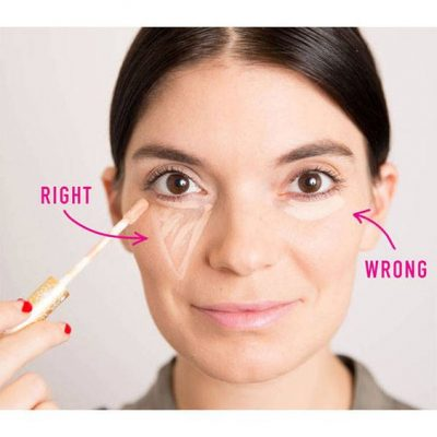trucos para maquillar ojeras