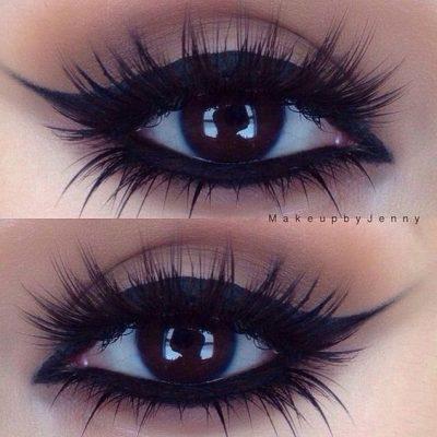 como maquillar unos ojos pequeños rasgados