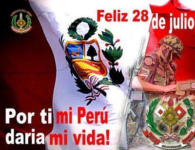 frases de fiestas patrias peruanas 28 julio