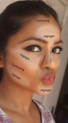 maquillaje completo paso a paso rostro