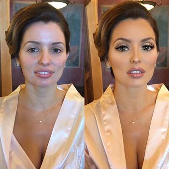 maquillaje de novia fotos de dia