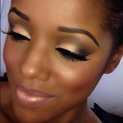 maquillaje de ojos para morenas canela