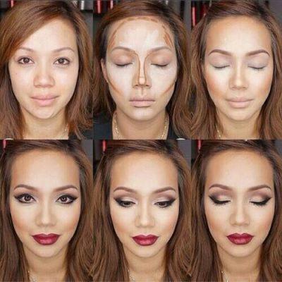 maquillaje ojos caidos marrones