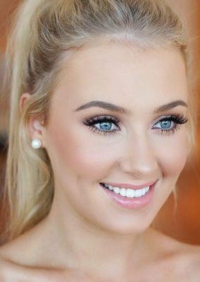maquillaje ojos claros boda