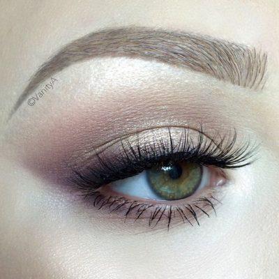 maquillaje ojos claros dia