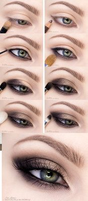 maquillaje ojos dorados paso a paso