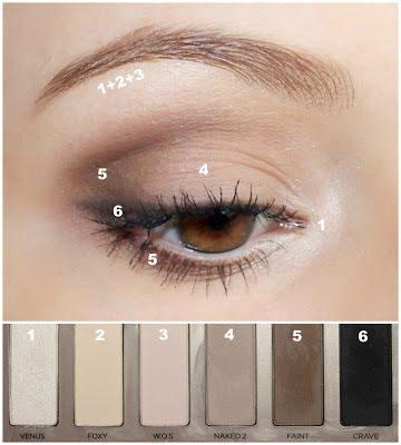 maquillaje ojos natural diario