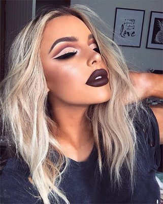 maquillaje para discoteca reluciente
