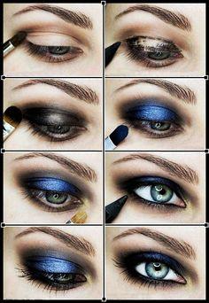 Estilo De Maquillaje Rockera Años 80 Para Mujer Imagenes De Maquillaje De Ojos