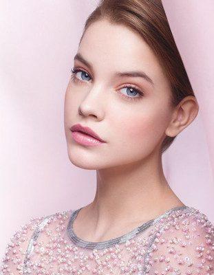 maquillaje rosado para ojos de dia