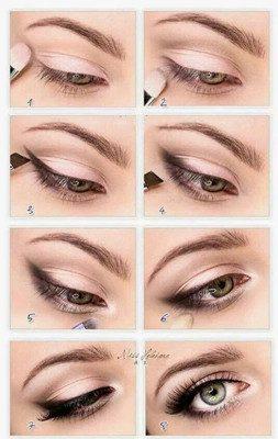 maquillaje rosado para ojos tutorial