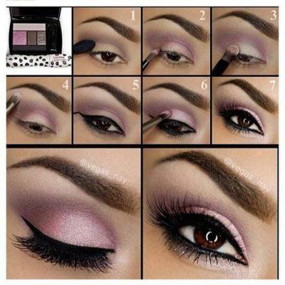 maquillaje sombras de ojos natural