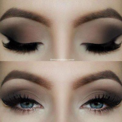 maquillar ojos ahumados facil