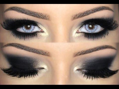 maquillar ojos ahumados oscurosa