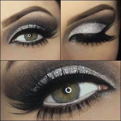 maquillar ojos ahumados paso