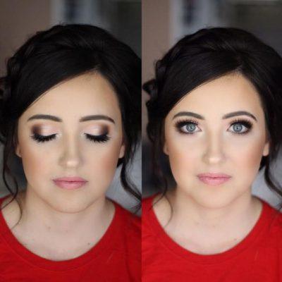 maquillar ojos grandes verdes