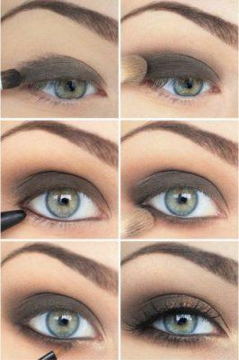 sombras para ojos verdes azulados