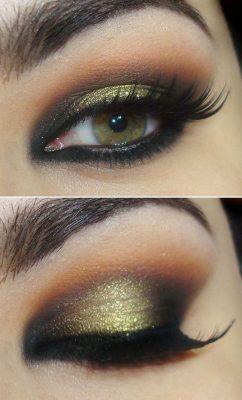 sombras para ojos verdes oscuros