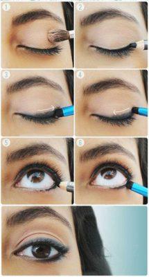 maquillaje para hacer ojos grandes paso a paso