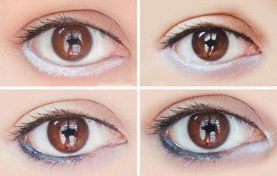maquillaje para hacer ojos grandes y simples