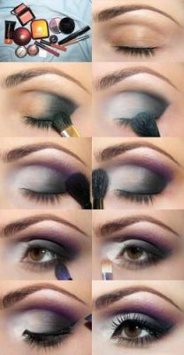 maquillaje para ojos oscuros grandes