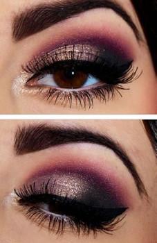maquillaje para ojos oscuros paso a paso