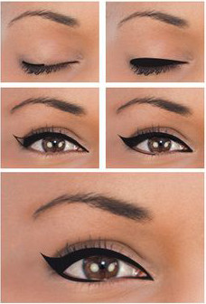 maquillaje para ojos separados facil
