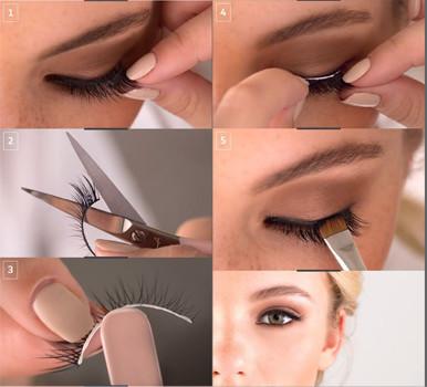 trucos de maquillaje para ojos con pestañas