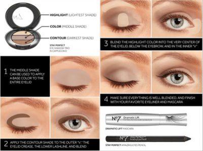 trucos de maquillaje para ojos grandes
